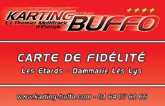 Karting Buffo carte fidelite